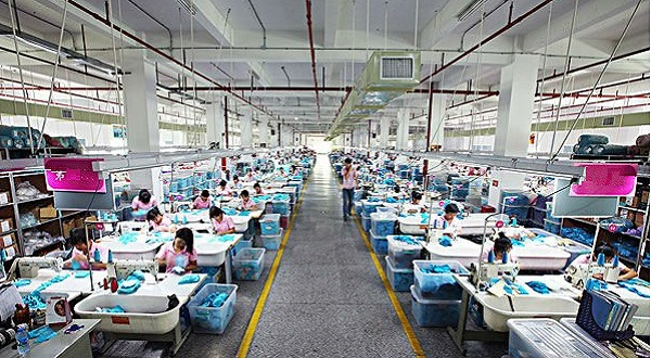 Garment Production Process Textile School